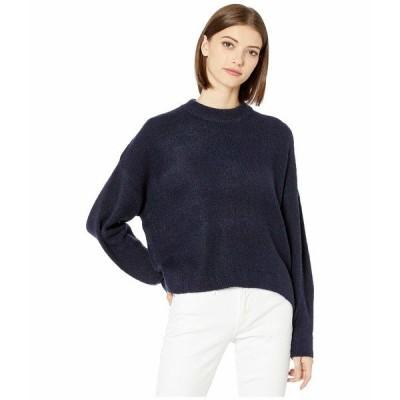 ビジョッププラスヤング ニット&セーター アウター レディース Montauk Sweater Navy