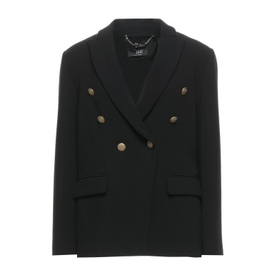 CLIPS テーラードジャケット ブラック 48 ポリエステル 63% / レーヨン 32% / ポリウレタン 5% テーラードジャケット