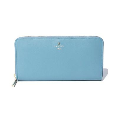 <LANVIN en Bleu(Bag&SLG)/ランバンオンブルー> リュクサンブールカラー ラウンドファスナー長財布 ブルー【三越伊勢丹/公式】