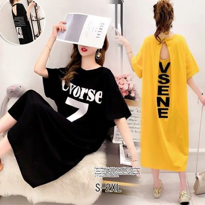 1FA274    2020 夏服 女性大人気 韓国ファッション ゆとり トップス 韓国/半袖Tシャツ/ロングTシャツ/Tシャツ