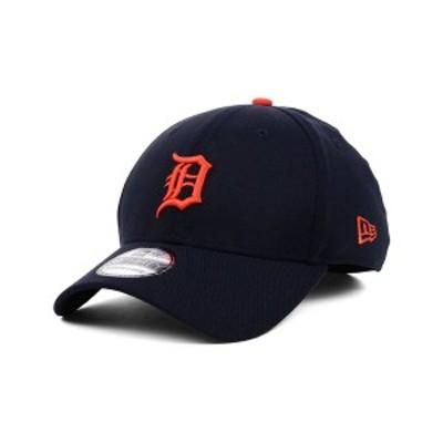 ニューエラ メンズ 帽子 アクセサリー Detroit Tigers MLB Team Classic 39THIRTY Stretch-Fitted Cap Navy