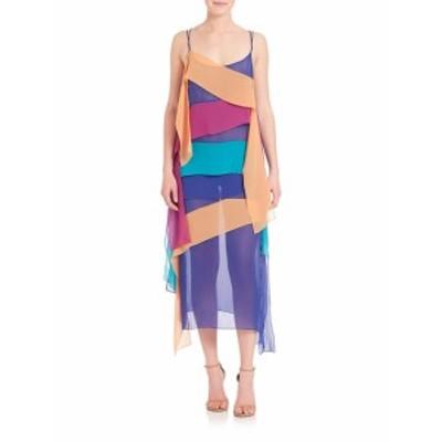 レディース ワンピース Chiffon Panel Dress