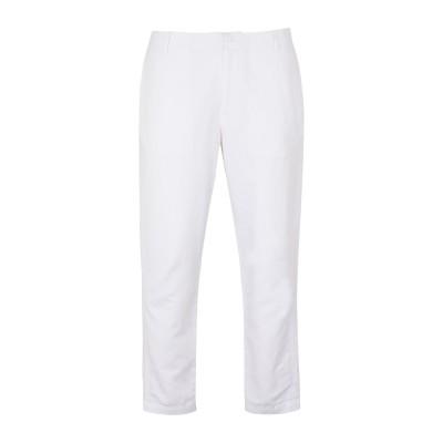 ARMANI EXCHANGE パンツ ホワイト 31 コットン 50% / 麻 50% パンツ