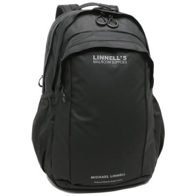 マイケルリンネル リュックサック ユニセックス 32L MICHAEL LINNELL MLAC-13 ブラック A4対応
