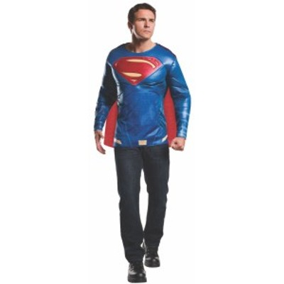 バッドマン コスチューム デラックス マッスル チェスト アダルト スーパーマン コスチューム トップ