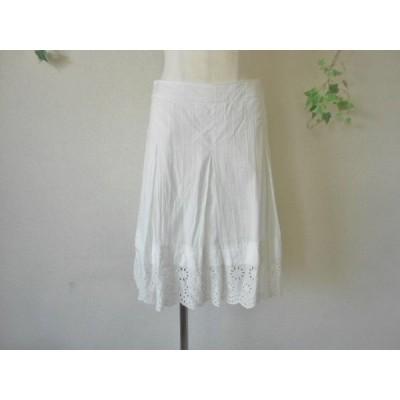 コフィ コレクト KOFI COLLECT カットワーク 刺繍 の 素敵 な スカート S