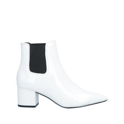 MADDEN GIRL ショートブーツ ホワイト 6.5 紡績繊維 ショートブーツ