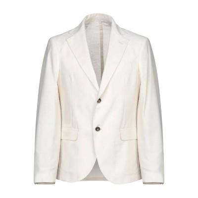 MARCIANO テーラードジャケット アイボリー 48 ポリエステル 65% / レーヨン 35% テーラードジャケット