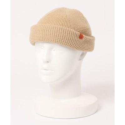帽子 キャップ UNIVERSAL OVERALL/ユニバーサルオーバーオール ワッフルロールニット