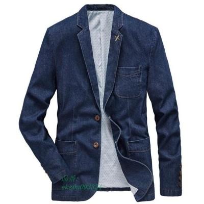 メンズテーラードジャケット ブレザー ビジネススーツ カジュアルスーツ ジャケット コート お洒落 個性