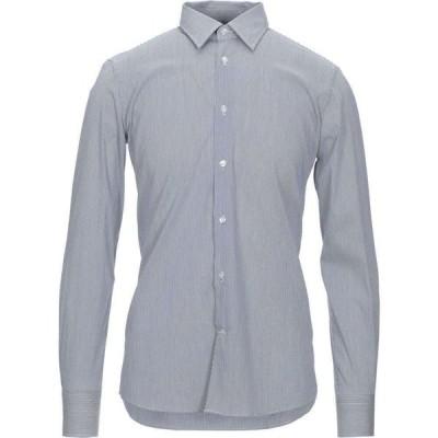 パルジレリ LAB. PAL ZILERI メンズ シャツ トップス Striped Shirt Dark blue