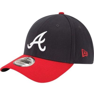ニューエラ New Era メンズ キャップ 帽子 Atlanta Braves 39Thirty Classic Navy Stretch Fit Hat