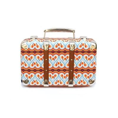 Kazeto 布張りスーツケース CrogDance ブルー 30cm
