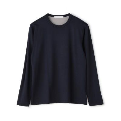 ESTNATION / ダウンボンディングバイカラーロングTシャツ