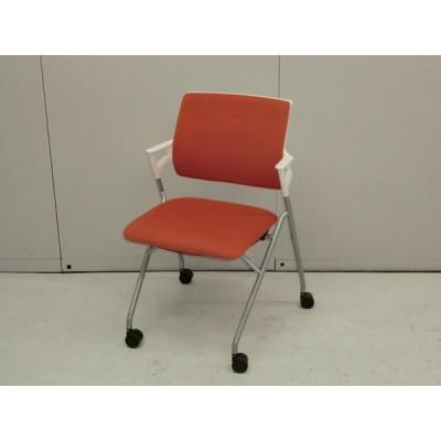 65817カートチェア コクヨ オレンジ 幅:510 奥行:580 高さ:790 カラー:オレンジ