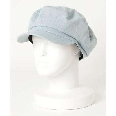 帽子 キャスケット ∴ DENIM MARINE / デニムマリンキャスケット