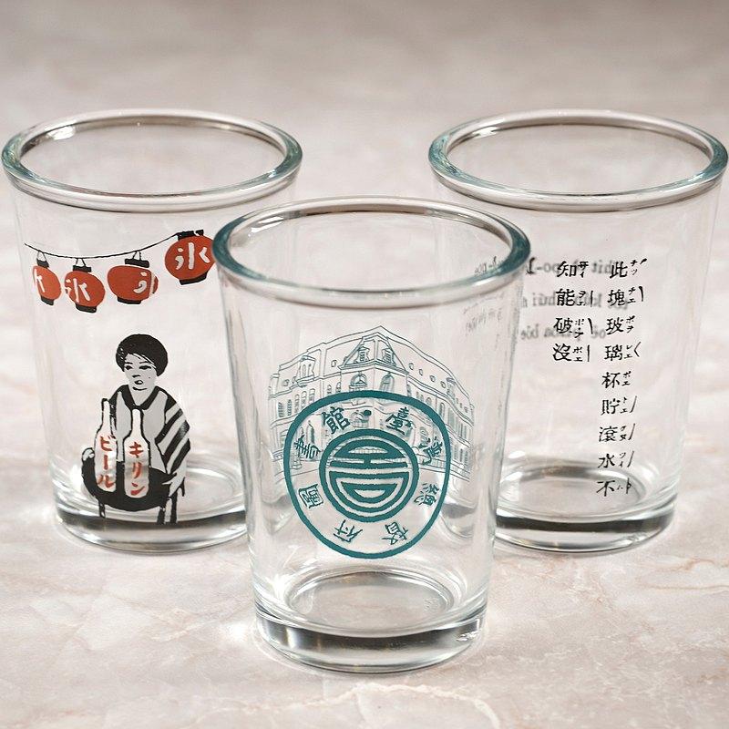 聯名款/ 玻璃杯-國立臺灣圖書館x春池玻璃