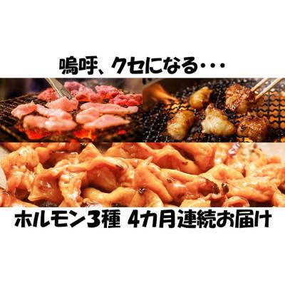 【4カ月連続】内臓天国 ~3種のホルモンセット~