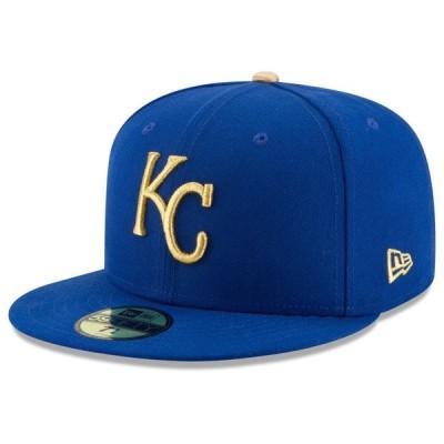 ロイヤルズ キャップ ニューエラ NEW ERA  MLB オーセンティック オンフィールド 59FIFTY オルタネート 平つば キャップ 特集