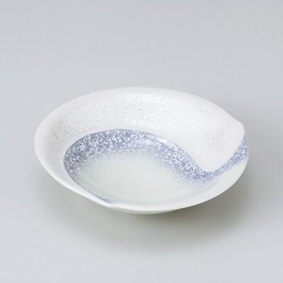 和食器 パープル吹ラスター勾玉平小 小鉢 ボウル カフェ 食器 陶器 おうち おしゃれ プチ ミニ 日本製