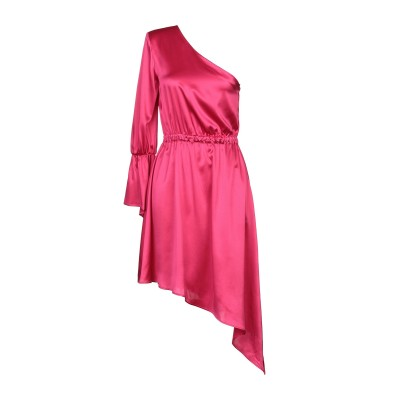 フェデリカ・トシ FEDERICA TOSI ミニワンピース&ドレス フューシャ 42 ポリエステル 97% / ポリウレタン 3% ミニワンピース