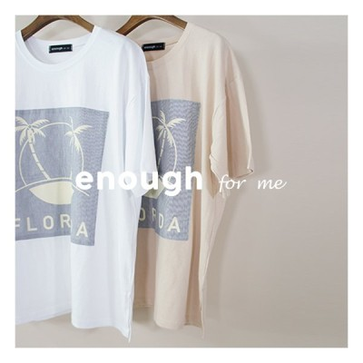 enough for me フロリダロゴTシャツ