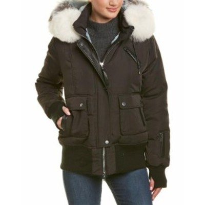 Nicole ニコール ファッション 衣類 Nicole Benisti Fordham Leather-Trim Jacket Xs
