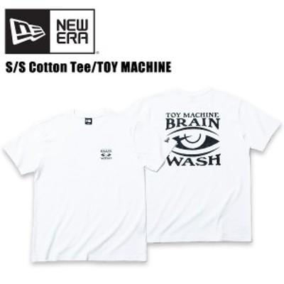 ニューエラ(NEW ERA)コットン Tシャツ トイマシーン ブレインウォッシュ S/SL《White》 半袖Tシャツ/男性用[小物][AA-2]
