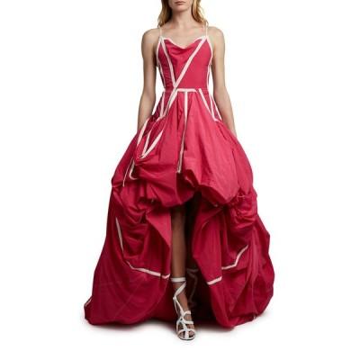 オフ-ホワイト レディース ワンピース トップス Couture Parachute Gown