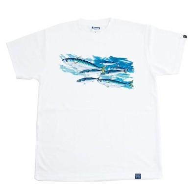 魚Tシャツ サバ <ドライメッシュTシャツ>