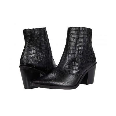 Blondo ブロンド レディース 女性用 シューズ 靴 ブーツ アンクル ショートブーツ Que Waterproof Bootie - Black Croc