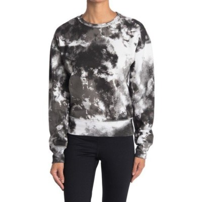 ゼットバイゼラ レディース パーカー・スウェットシャツ アウター Maisie Tie Dye Pullover Sweatshirt BLACK