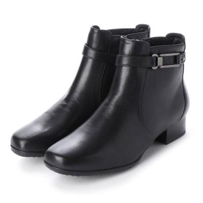 ポーターフォーチュン porter Fortune 本革バックルベルトブーツ (ブラック)