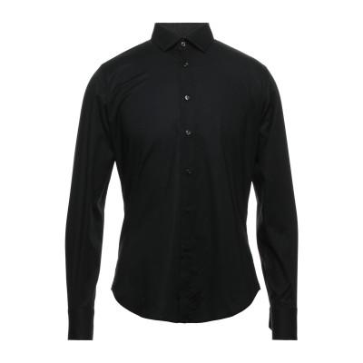 アルヴィエロ マルティーニ プリマ クラッセ ALVIERO MARTINI 1a CLASSE シャツ ブラック 44 コットン 97% / ポリ