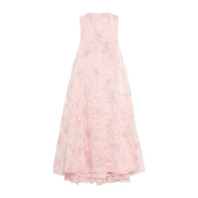 LANACAPRINA ロングワンピース&ドレス ローズピンク 46 ポリエステル 95% / ポリウレタン 5% ロングワンピース&ドレス