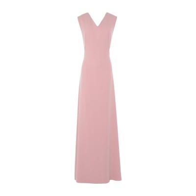 ALEX VIDAL ロングワンピース&ドレス ピンク 36 ポリエステル 100% ロングワンピース&ドレス