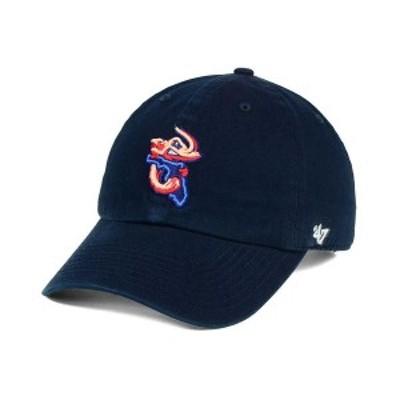 47ブランド メンズ 帽子 アクセサリー Jacksonville Jumbo Shrimp CLEAN UP Cap Navy