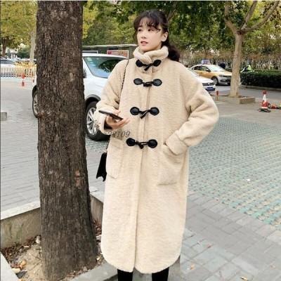 おしゃれ ロングコート上着 ジャケット アウター オフィス 暖かい フェイクファー女性 通勤 毛皮コート 冬物 防寒 人気 レディース OL