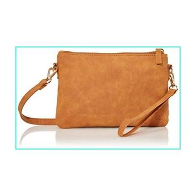 【新品】Leather RFID Blocking Fanny Pack Anti Theft Travel Small Versatile Womens Waist Bag Crossbody Purse Wristlet Belt Bag(並行輸入品)