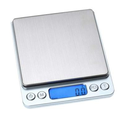 SWAG STYLE キッチンスケール 丸正マーク取得済み クッキングスケール ステンレス製 食品 計量器 簡単 デジタル 追加計量可能 最大軽量3.0kg