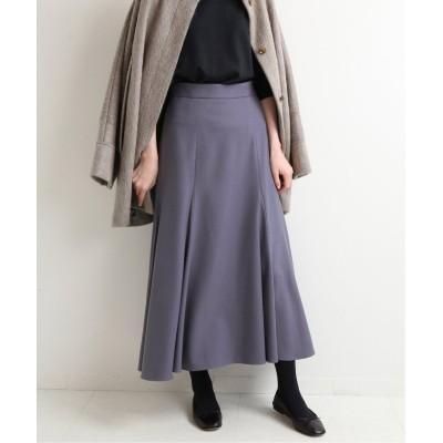 【イエナ】 《予約》マーメイドフレアデザインスカート◆ レディース ブルー 34 IENA