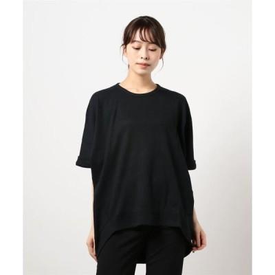tシャツ Tシャツ ワッフルドルマンプルオーバー