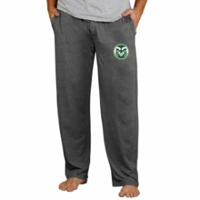 Concepts Sport コンセプト スポーツ スポーツ用品  Colorado State Rams Concepts Sport Quest Knit Pants - Charcoal