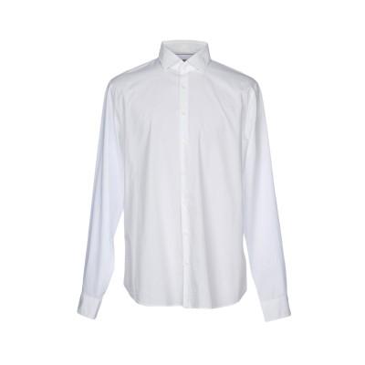 MICHAEL KORS MENS シャツ ホワイト 37 コットン 98% / ポリウレタン 2% シャツ