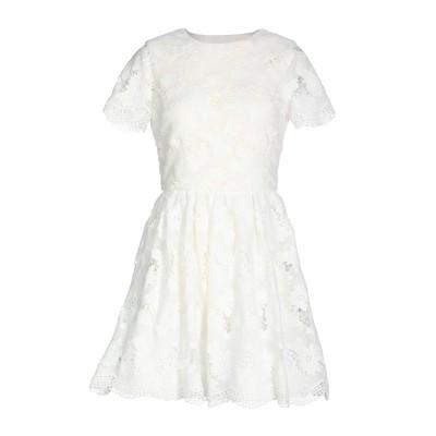 アリス・アンド・オリビア ALICE + OLIVIA ミニワンピース&ドレス ホワイト 10 ポリエステル 100% ミニワンピース&ドレス