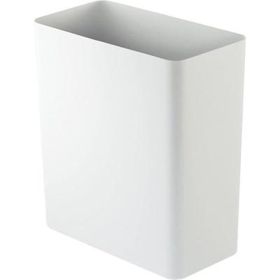 山崎実業 ゴミ箱 トラッシュカン タワー 角型 ホワイト 2915