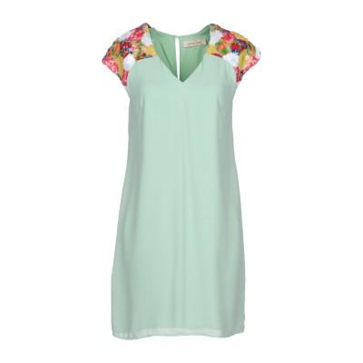 TRAFFIC PEOPLE ミニワンピース&ドレス ライトグリーン XS 100% ポリエステル ミニワンピース&ドレス