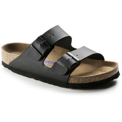 ビルケンシュトック レディース スニーカー シューズ Birkenstock Arizona Birko-Flor Soft Footbed Sandals - Women's Black