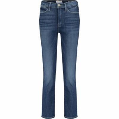 フレーム Frame レディース ジーンズ・デニム クロップド ボトムス・パンツ Le High cropped straight jeans Bestia