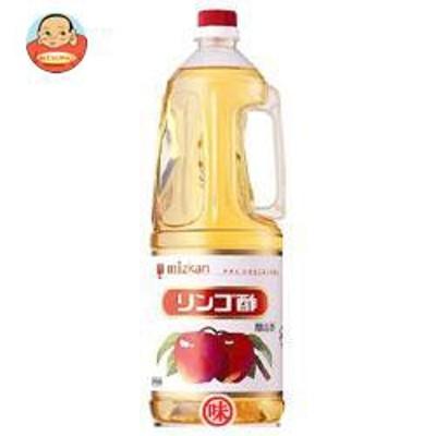 送料無料  ミツカン  リンゴ酢  1.8Lペットボトル×6本入